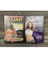 Lot Of 2 Jillian Michaels Killer Abs & Ripped In 30 Workout DVD's New In... - $8.91