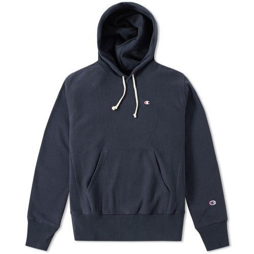 CHAMPION REVERSE WEAVE CLASSIC HOODY Navy Large