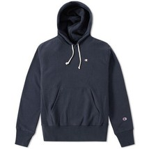 CHAMPION REVERSE WEAVE CLASSIC HOODY Navy Large - $175.00
