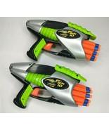 Buzz Bee Toys Air Blasters TEK 10 Shot Lot of 2 Air Guns with Soft Darts - $28.98