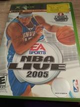 MicroSoft XBox NBA Live 2005 image 1