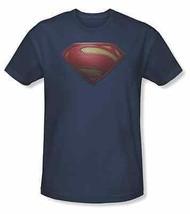 Autentico Superman Uomo D'Acciaio Mos Logo Scudo DC COMICS Film T Shirt S-3XL - $22.15