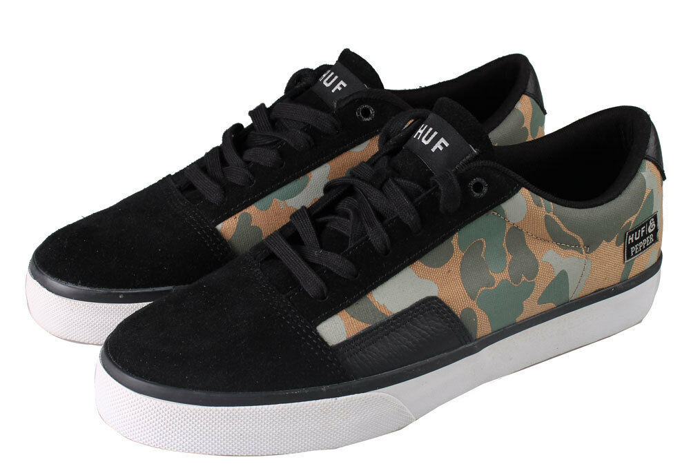 HUF SOUTHERN X EXPEDITION  JOEY PEPPER CAMO SNEAKERS 9.5 US NEW IN BOX