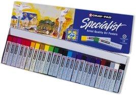 Sakura ESP25 25-Piece Cray-Pas Specialist Assorted Colors Oil Pastel Set - $53.95