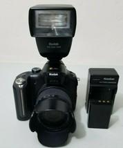 Kodak EasyShare P880 8.0MP Digital Camera Pro Bundle W/ P20 Zoom Flash *... - $69.29