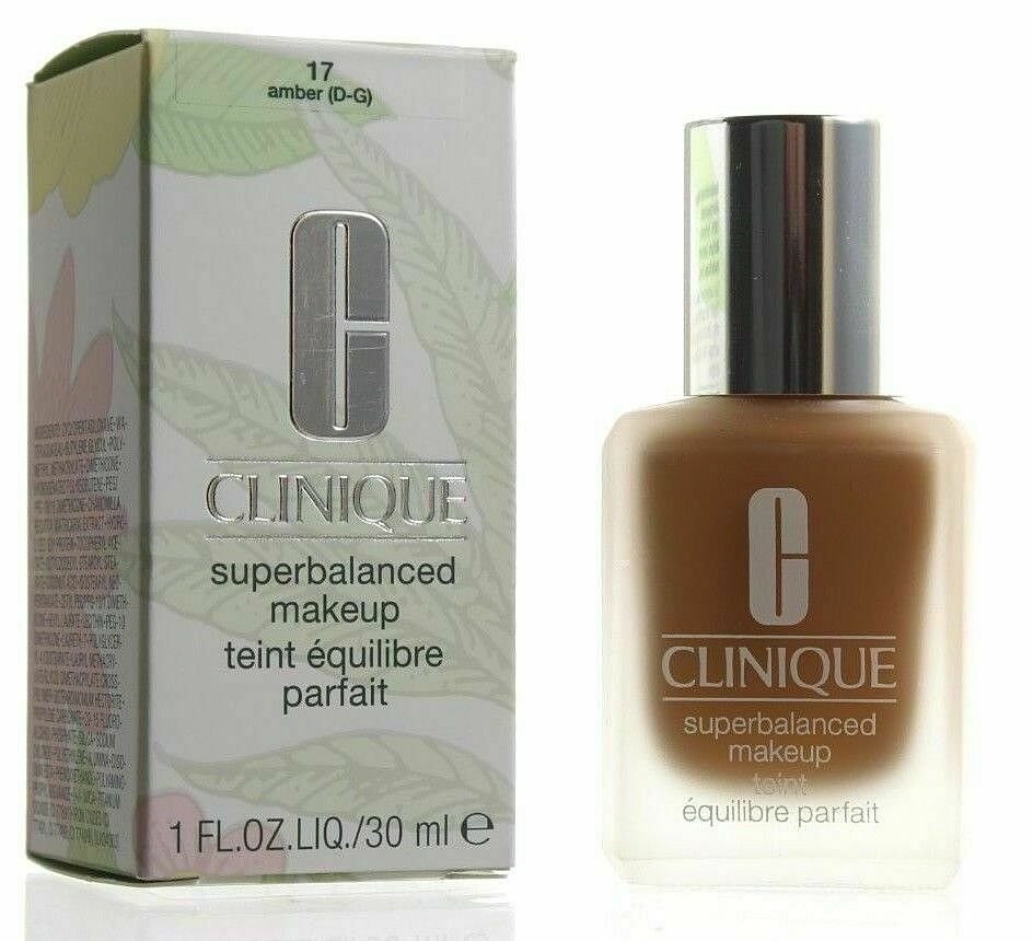 Primary image for Clinique Superbalanced Silk Makeup Foundation SPF15 17 Amber NEW Boxed