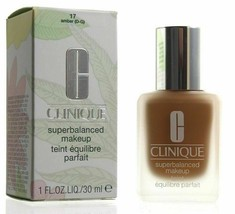 Clinique Superbalanced Silk Makeup Foundation SPF15 17 Amber NEW Boxed - $2,178.00
