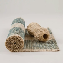 Free Shipping 100% Ramie Hand Woven Table Runner and Placemat New #PR27 - $47.00+