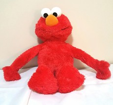 "Big Hugs Elmo Hug Me Sings Talks Works 22"" Red Elmo Hasbro 2012 Sesame S... - $15.35"