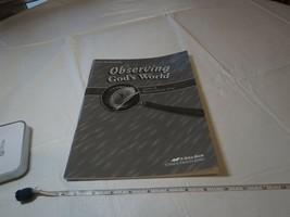 Observación God's World 6 Teacher Worksheet Key Libro Beka Escuela Hogar... - $12.79