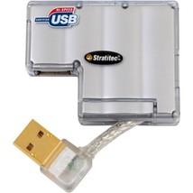 Stratitec USBM4EXT 4-Port Mini USB 2.0 Hub - $94.35