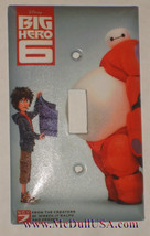 The Big Hero 6 Light Switch Duplex Outlet wall Cover Plate Home decor image 2