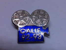 California Calif 92-93 Pin Pinback - $10.55