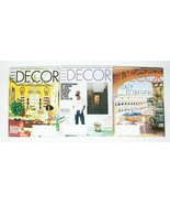 ELLE DECOR MAGAZINES LOT OF 3 2021 YEAR BACK ISSUES DECORATING HOME STYL... - $8.11