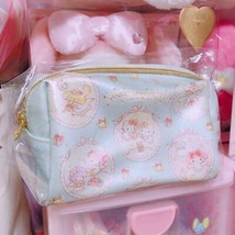 Sanrio Angel Christmas Hello Kitty 2018 My Melody Pouch Blue Cute  - $76.34