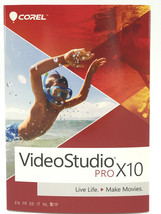 Corel VideoStudio X10 Pro Professional Model VSPRX10MLMBAM for Windows #... - $22.54