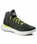 Under Armour Mens UA Curry 3Zero Stealth Gray Basketball Sneakers 129830... - $62.95