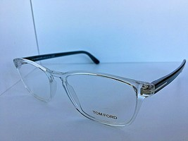New Tom Ford TF 5355 TF5355 026 56mm Clear Eyeglasses Frame Italy - $194.99