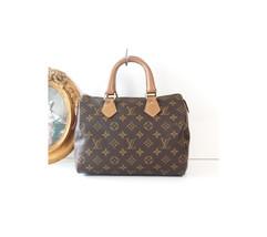 Authentic Louis Vuitton Monogram Speedy 25 USA tote handbag - $1,200.00