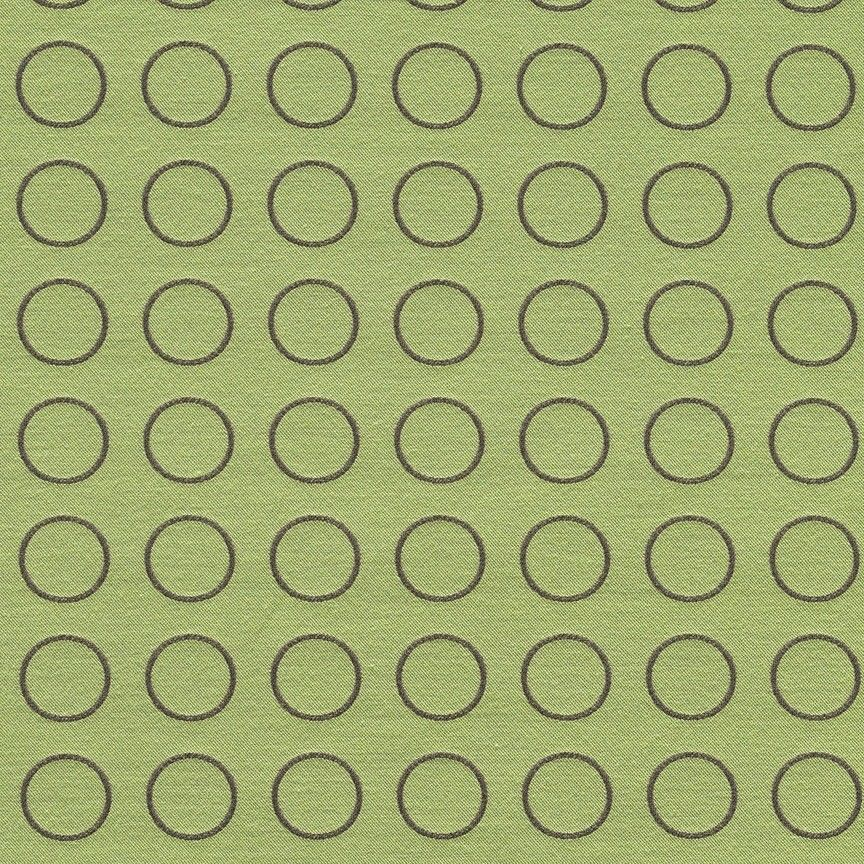 3 yds Maharam Upholstery Fabric Repeat Dot Ring Apple Green 462150–003 - FH