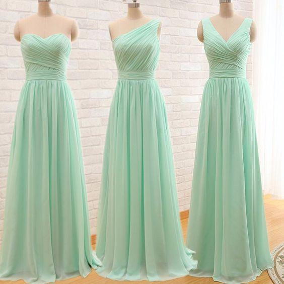Vestidos de dama de honor para la primavera 1