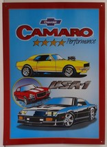 Camaro Chevrolet USA-1 Car Metal Sign - $19.95