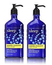 Bath & Body Works Aromatherapy Lavender Chamomile Body Lotion 6.5 fl oz x2 - $32.50