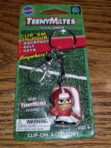 Primary image for ALABAMA CRIMSON TIDE COLLEGE TEENYMATES TAGALONGS KEY CHAIN!!! HARD TO GET!!!