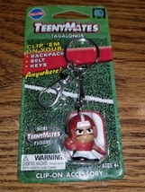 ALABAMA CRIMSON TIDE COLLEGE TEENYMATES TAGALONGS KEY CHAIN!!! HARD TO G... - $9.59
