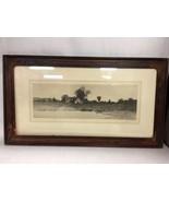 Etching Signed J. Haller Remarque Proof Impression (c) 1890 Radtke Lauck... - $152.35