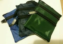 ONE New Necklace Wallet Purse inside shirt purses hidden wallets Navy Bl... - $9.99