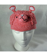 Pink Lamb Hat for Children - Animal Hats - Medium - $16.00