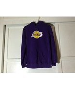 Fanatics Branded Lakers Purple Primary Team Pullover Hoodie Youth Large ... - $18.00