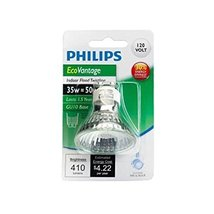 Philips 428136 50W Equivalent Halogen MR16 GU10 Flood Light Bulb - $11.89