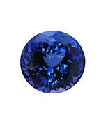 Brilliant Round Cut Deep Blue AAA Tanzanite 5mm 0.50 Carats Loose Gem Stone - £80.12 GBP