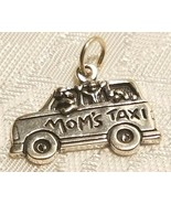 Mom's Taxi Sterling Silver Charm  STAMPED .925 - $12.99