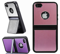 2-Way Stand Aluminum Luxury Chrome Soft Gel Case Cover Skins For iPhone ... - £3.18 GBP