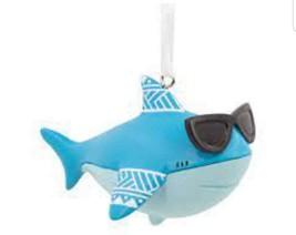 Hallmark Ornament Rsn Shark (LOC C5-2021) - $12.19