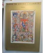 1954 Book of Hours Calendar/Postcards Palindrome Press Berkeley - $8.99
