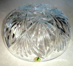 "Waterford KILKEA Crystal Ceiling Light Fixture Shade Dome Bowl Shaped 8""... - $108.90"