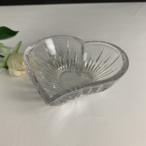 Mikasa Lead Crystal Icicles Heart Candy Dish  - $19.95