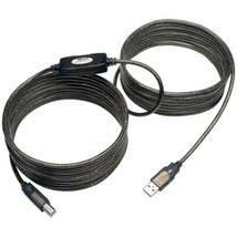 Tripp Lite U042-025 USB 2.0 Hi-Speed A/B Active Repeater Cable, 25ft - $36.54