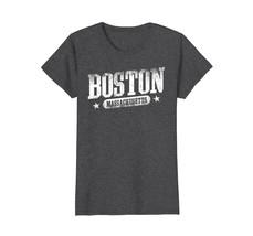 Boston Massachusetts Vintage T Shirt Distressed - $19.99+
