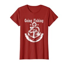 Going Fishing Funny Fisherman Big Mouth Bass T-Shirt - $19.99+