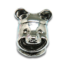 Charms Best Selling Silver Plated Vintage Bear Head European fit Bracelet for 5  - $15.99