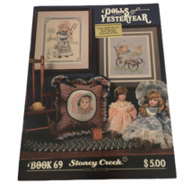 Stoney Creek Collection Dolls of Yesteryear Book 69 Counted Cross Stitch... - $5.40