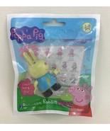 "Rebecca Rabbit Peppa Pig Building Toy Construction Figure 2.5"" Jazwares ... - $13.81"