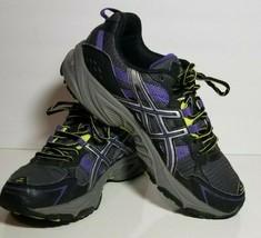 Asics Gel-venture 4 Womens Shoes T383N Running Training Purple Black Size 9 US - $27.03