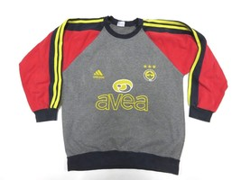 ADIDAS Fenerbahçe SK Soccer/Football Crew Neck Sweatshirt Adult Men's Si... - $39.55