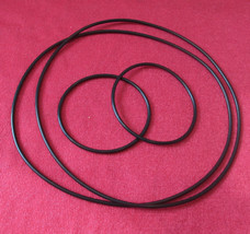 2 x Round Cross Section Drive Belts + 2 x Suspension Belts for The Acos ... - $23.58